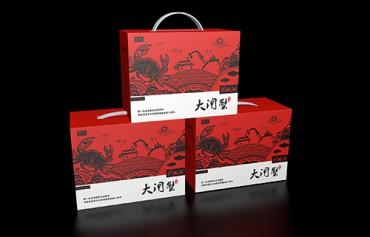 海鲜彩盒包装